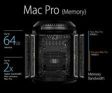 Genuine Apple Original 64GB 4x16GB 1866MHz DDR3 ECC Memory for Late 2013 Mac Pro