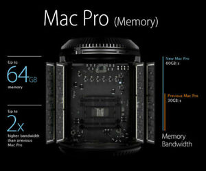 64GB 4 x 16GB 1866MHz Ram DDR3 Memory PC3-14900R Mac Pro 2013, SERVER SALE $135