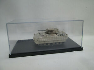 A Detailed Model of a Military Tank in Display Box