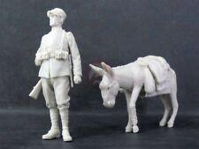 Cix Models 1/35 Italian Infantry Soldier WWI & Donkey w/Bandaged Leg CIXM018