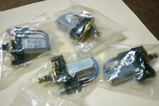 Four Pieces Ff 180sh Small Electric Dc Motor Kw 2899 Withspeedgear Reducer New