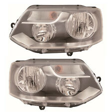 VW TRANSPORTER CARAVELE T5 2009- Headlight Electric TWIN Reflector 1 X Pair