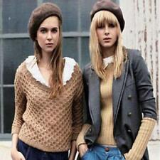 12 Farben Damen Baskenmütze Barett Beret mütze Franzosenmütze Kopfbedeckung