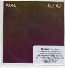 (FJ960) Kwes, Bashful - 2013 DJ CD
