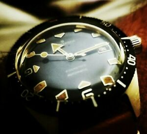 UNIQUELY STYLED, HERBELIN DIVER AUTOMATIC 200M VINTAGE WATCH, ROULETTE DATE