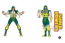 1988 Super Powers CYCLOTRON A Model Art : Justice League