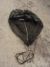 Ex British Military Small Khaki Balloon Parachute Canopy by Irvin