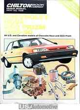 CHILTON REPAIR & TUNE-UP GUIDE FOR CHEVROLET NOVA AND GEO PRISM 1985-1990