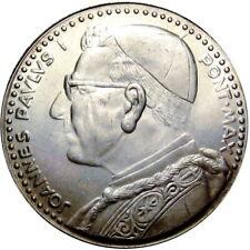 1978 Vatican City Pope John Paul I 35mm Silver Token Medal