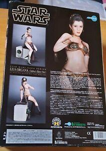 Star Wars leia organa j slave-pvc Figurine 1:7 Echelle Snap-Fit 27cm Kotobukiya