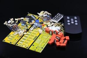 Balance Version JV8 HIFI Remote Control Volume Board Kit 128 Steps 2 Channel 50K