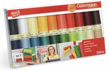 Gütermann 100m Reel Sew-All 100% Polyester Sewing Thread/ Cotton Machine + Hand