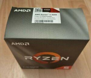 AMD Ryzen 5 3600 3,6 GHz Hexa Coeur AM4 Processeur (100-100000031BOX)