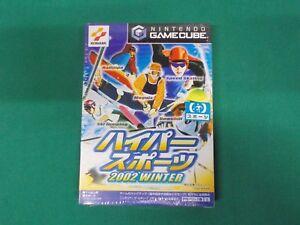Game Cube -- HYPER SPORTS 2002 WINTER -- New!! Nintendo GC **JAPAN GAME** 36384
