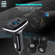 TP620 Wireless Car TPMS Tire Pressure Monitor Cigarette Lighter External Type