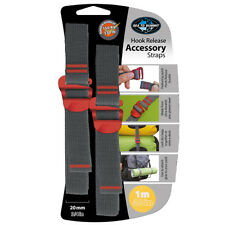 Sea To Summit Accessory Lashing Strap With Quick Release Hook Buckles 20mm x 2