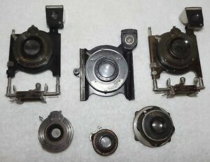 Lot Antique Camera Shutters / Lens / Viewers-Kodak Victo Bionic - Parts/Repair