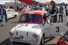 PHOTO  SILVERSTONE 09 DON'T YOU JUST LOVE THOSE LITTLE FIAT ABARTHS? I RATHER LI