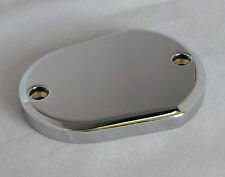 BQuazy Flat Derby Cover in Black for 2004 to 2019 Sportster Models