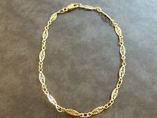 Bracelet ancien or 18 carats maille filigrane