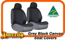 3 Row Grey Black Canvas Seat Covers for HYUNDAI Santa-Fe DM SUV 8/2012 on