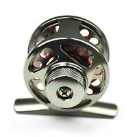 Little Fly Fishing Reel Ultra light Left Right hand 3/4 48mm Dia. D40 Silver&Red