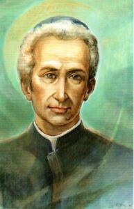 275 San Lodovico Pavoni con preghiera per ottenere la grazia  Holycard Santino