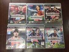 SONY PLAYSTATION 3 NTSC JAPAN 6 Winning Eleven set 2008~2013