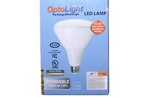 Opto Light The Energy Efficient Light LED Lamp BR30 14 Watts 800 Lumens Dimmable