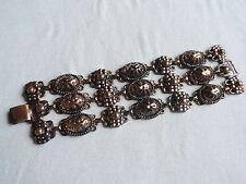 Jewelry Vintage COPPER Ornate Bracelet (tt504)