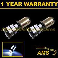 2X 380 BAY15D 1157 XENON WHITE 21 SMD LED STOP TAIL BRAKE LIGHT BULBS ST201601