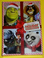 DreamWorks Holiday Collection (New) 2-Disc DVD Set Shrek Madagascar Dragon Panda