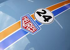 LE MANS 24 HOURS 2017 BONNET STRIPE sticker decal '2017 Le Mans 24 Heures'