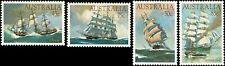 1984 AUSTRALIA Clipper Ships (4) MNH