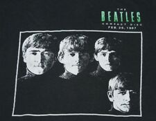 M * vtg 80s 1987 THE BEATLES Capitol Records promo 1st time on CD t shirt 71.150
