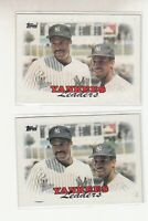 YANKEES LEADERS 1988 Topps #459 Error Variation Oddball 2 Different Winfield