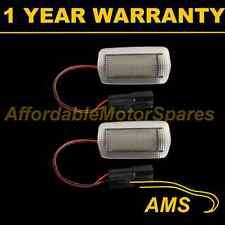 2x per LEXUS LS430 LS460 LS600H RX330 RX350 24 BIANCO LED DI CORTESIA penetrazione del pavimento luci