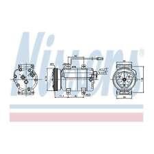 Fits VW Passat 3B6 1.9 TDI Genuine OE Quality Nissens A/C Air Con Compressor