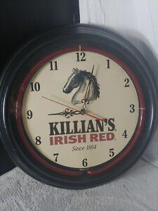 "15"" Killians Irish Red Lighted Wall Beer Clock"