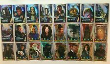 Doctor Who Alien Armies Glitter Foil Assortment of Trading Cards