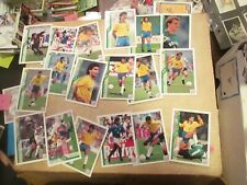 1994 Upper Deck Soccer Brazil Near Complete Team Set 19/20 missing #71