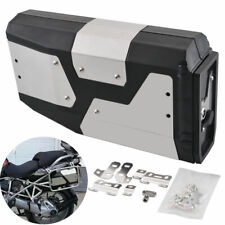 4.2L Stainless Tool Box For BMW R1200GS R1250GS LC Adventure Left Bracket 04-Up