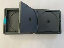 Laserline CD DVD Bluray Games Hard Flip Case Portable 12 Disc Holder Made in USA