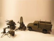 Rapier Missile System factory model: Truck, Launcher, Radar, trailer, generator