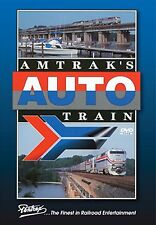 AMTRAK'S AUTO TRAIN PENTREX NEW DVD VIDEO WASHINGTON D.C. TO SANFORD FLORIDA