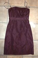 NWT J CREW - SPECIAL OCCASION & PARTY DRESS - EGGPLANT/PURPLE - MISSES 4