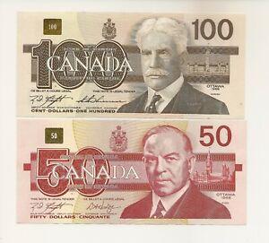 Rare Canadian 20 10 5 Dollar Bill Paper Money F~XF Birds Banknotes 1980s 1 EACH!