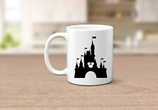 Princess Castle Disney Inspired Gift Mug Mickey and Minnie Mouse