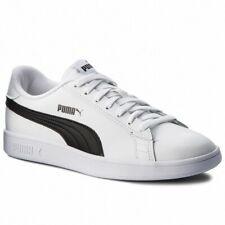 Scarpe da uomo Puma Smash V2 L 365215 01 bianco nero sneakers sportiva calzature