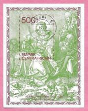 République CENTRAFRICAINE - CENTRAFRIQUE - 1979 Bloc 36 Albrecht Durer Madone